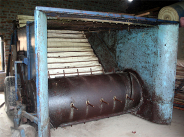 Compost maker for mushroom cultivation