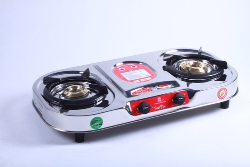 2 Burner Steel Gas Stove