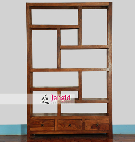 Sheesham Wooden Bookshelf India
