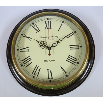 Franklin & Murphy est 1869 Wall Clock