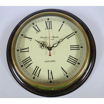 Franklin & Murphy est 1869 Wall Clock