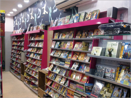 Super Market Cantilever Wall Display Books Cds Dvd Racks