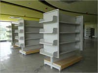 Super Market Cantilever Display Books Cds Dvd Racks With End Cap Wings