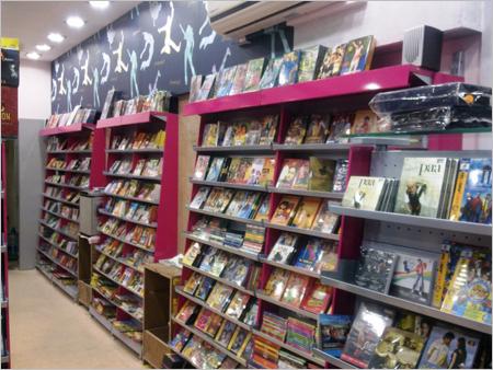 Super Market Cantilever Wall Display Books Cds Dvd Racks
