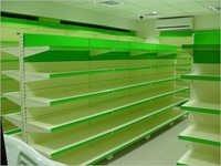 Cantilever Rack Super Markets Center Back To Back Racks Retail