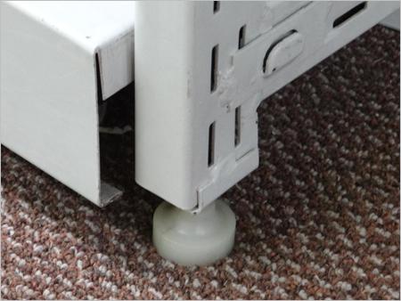 Four Pole Rack Base For Floor Stability
