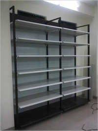 Super Market Flexible Wall Four Pole System Metal Panels