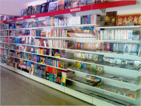 Cantilever Wall Rack Book Display Retail Systems