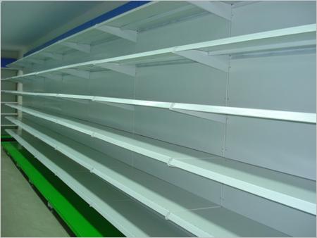 Super Market Cantilever Ms Wall Display Storage Rack