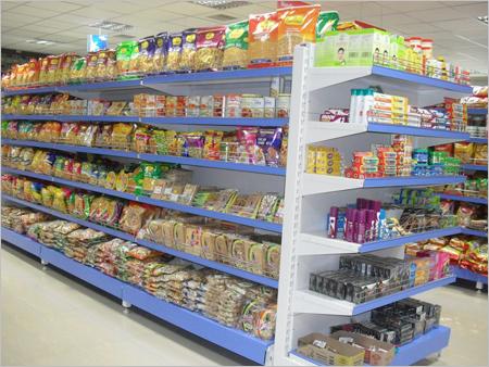 Cantilever Rack Super Markets Center Back To Back Racks