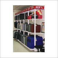 Slotted Flexible Wall Four Pole System For Suit Case Luggages