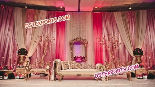 MUSLIM WEDDING ELEGENT STAGE SET