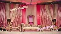 MUSLIM WEDDING ELEGENT STAGE SET