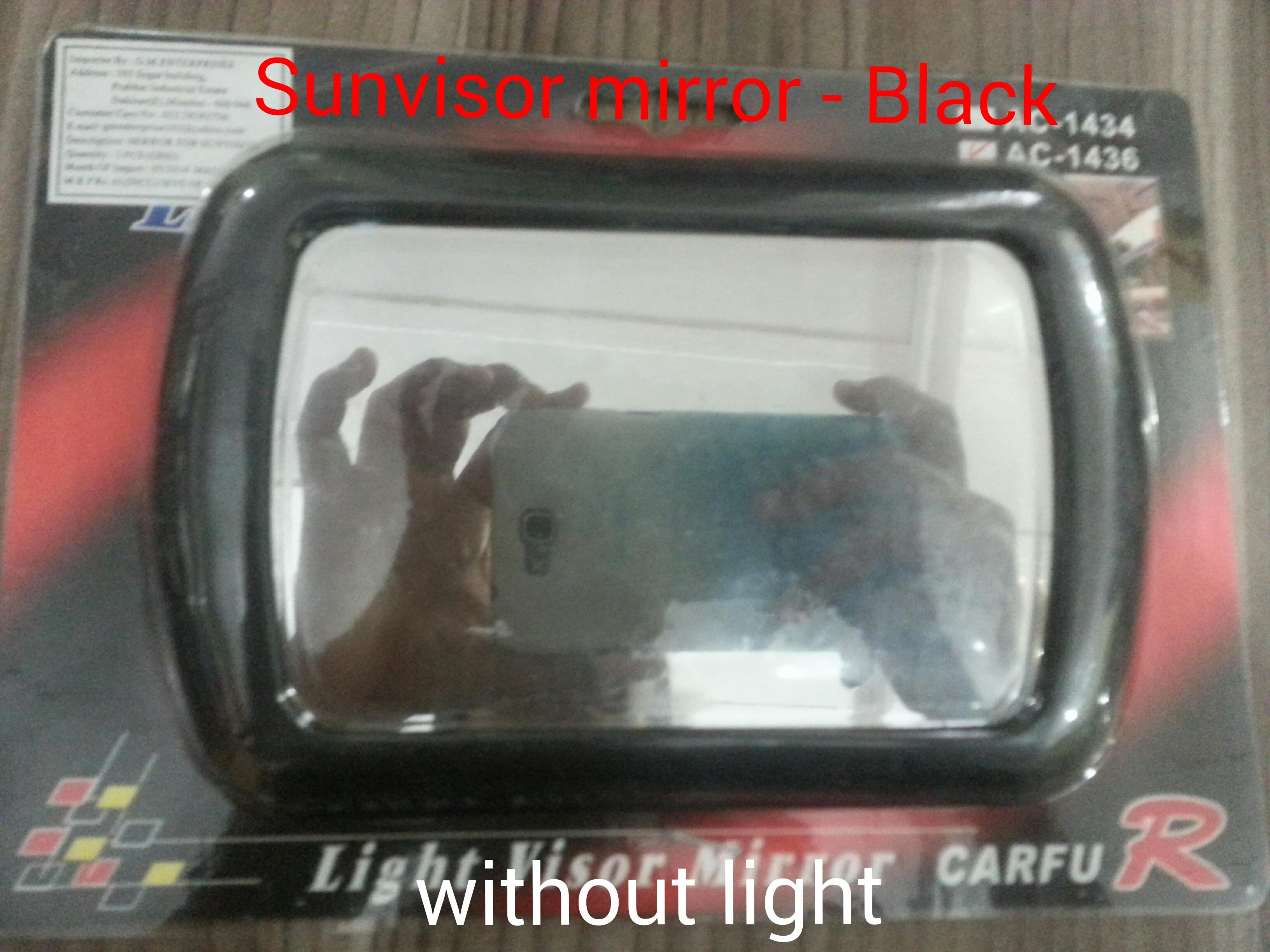 Sun Visor Without Light