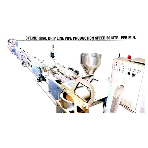 Cylindrical Drip Line Pipe Production Speed 50 MTR