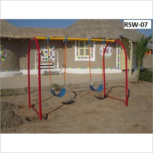 Baby Arch Swing Double 6'-0 Height