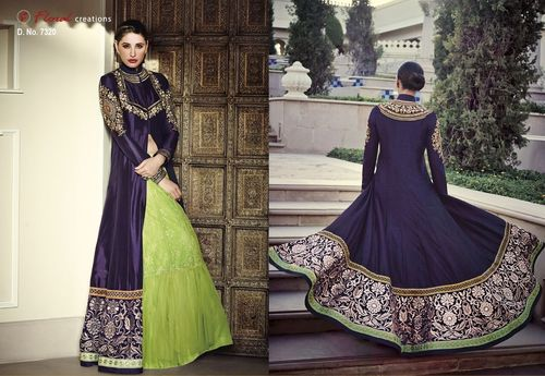 Attractive Unstitched Salwar Suit