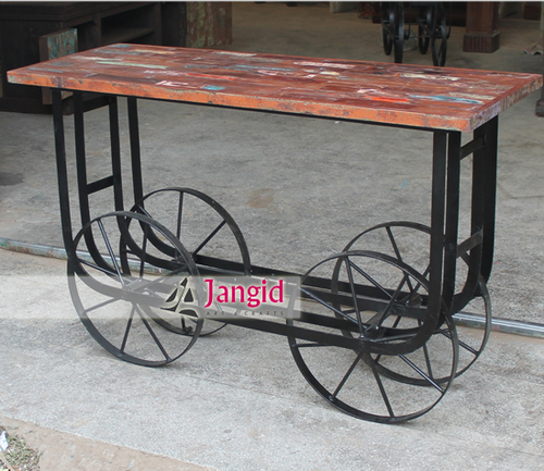 Indian Industrial Reclaimed Wooden Furniture