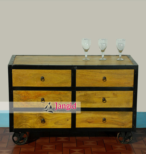 Indian Industrial Drawer Chest Design