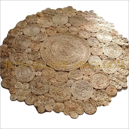 Round Polyester Area Rugs
