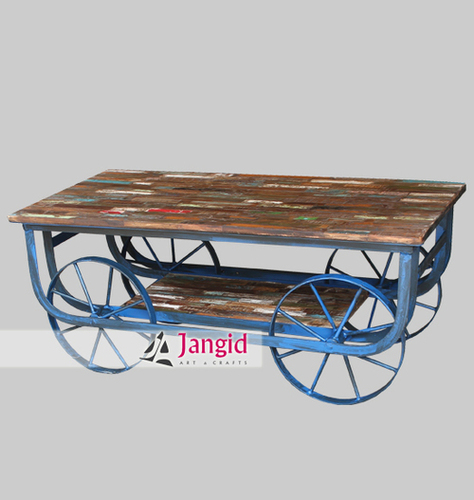 Indian Industrial Rustic Coffee Table