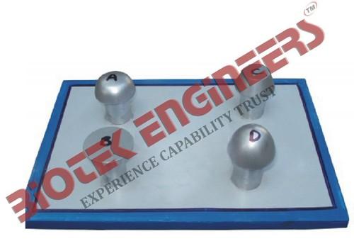 Rivets Set of Four (Metal Model)