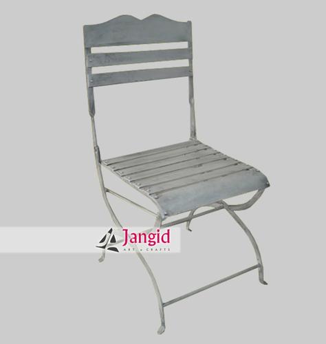 Indian Wrought Iron Garden Chair