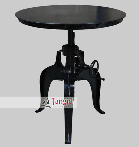 Industrial Metal Crank Tables