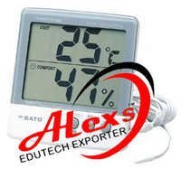 Thermo Hygrometer With Temp Prob