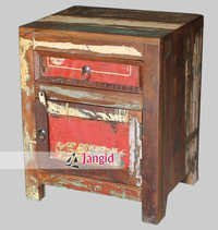 Recycled Wooden Night Stand India