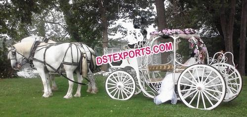 Cinderela Horse Drawn Carriage