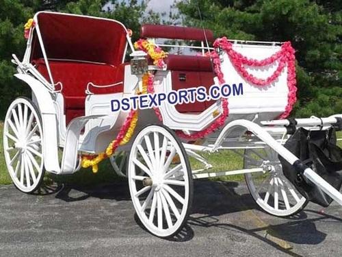 INDIAN WEDDING DECORATED BUGGY