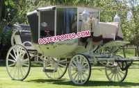 ANTIQUE WEDDING HORSE BUGGY