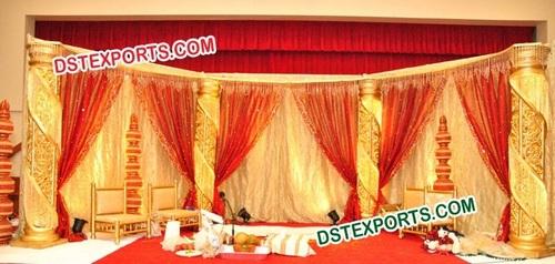 WEDDING CRYSTAL STAGE DECOR