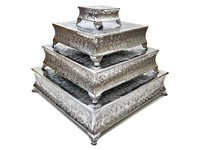 Four-Tiered Cake Stand Square