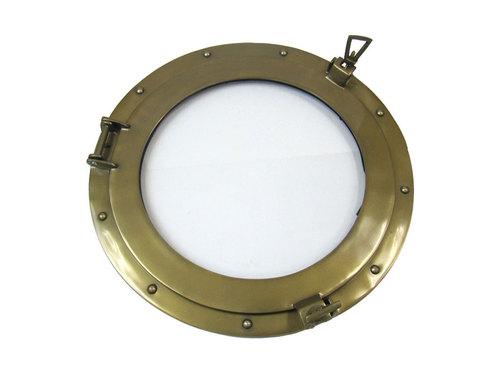 Aluminum Porthole Clear 17