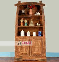 Indian Recycled Wood Bookshelf