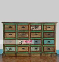 Reclaimed Wooden Chest of Drawer India