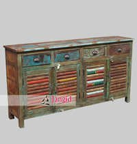 Indian Recycled Ship Wooden Furniture
