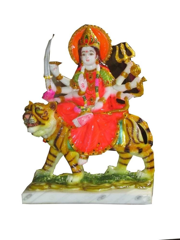 polyresin Durga statue