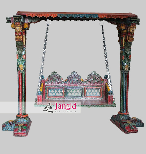 Painted Wooden Swing India