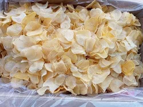 Sun dried Raw Potato Chips