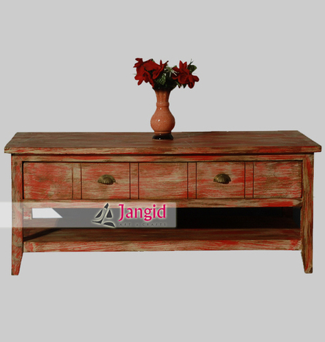 Wooden Multi Coloured Distressed Painted Furniture