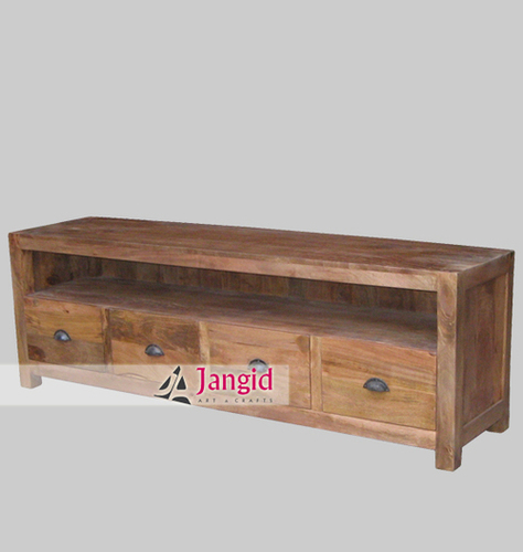 Indian Solid Mango Wood TV Stand