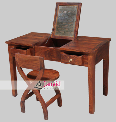 Wooden Writing Table with Chair