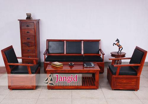 Indian Wooden Living Room Sofa Set