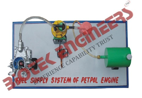 Fuel Supply System of a Petrol Engine