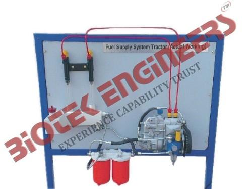 Fuel Supply System of a 4 Cylinder Diesel Engine