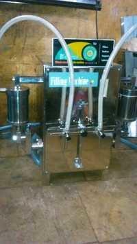 Double Head Volumetric Liquid Filling Machine