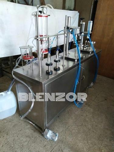 Semi Automatic Perfume Filling Machine